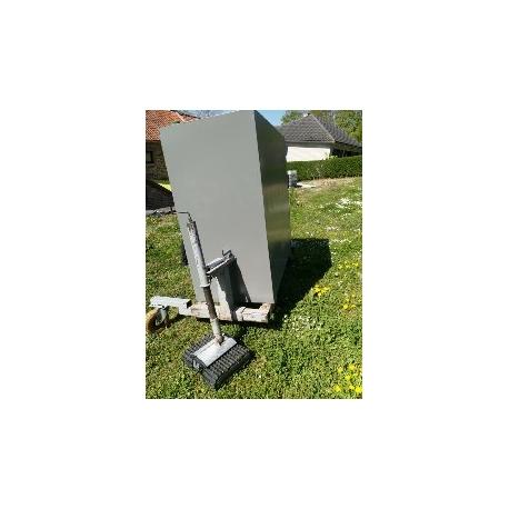 Cuve mazout 2800 litres modèle normal rectangulaire